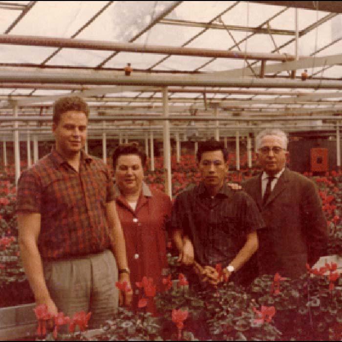 Geschichte Gartencenter Baesweiler